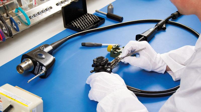 Conserto de endoscopios