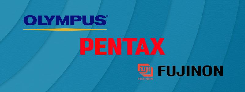 Principais Marcas: Olympus, Pentax e Fujinon